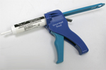 Gourmet Bait Gel Gun is shown blue in color