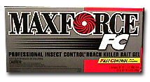 Maxforce FC Professional Roach Bait Gel - 3 Pack label is shown