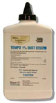 Tempo 1% Dust is shown in its glue bottle shape This insecticide dust is very popular for inection pest control operations!