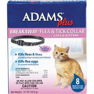 Adams Plus Breakaway Flea Amp Tick Collar For Cats Amp Kittens
