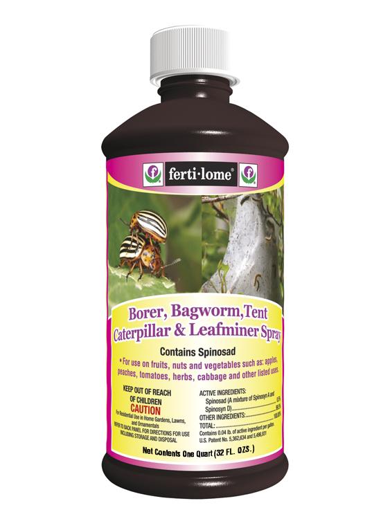 borer  bagworm  tent caterpillar  u0026 leafminer spray