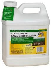 how to kill lawn grubs naturally