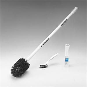 Anstar Drain Brush Kit is shown 3 pieces plus a handle stop small insects with these cleaning brushes