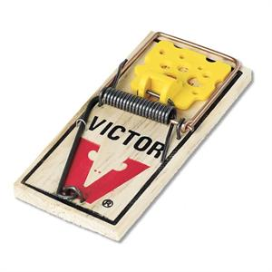 Victor Easy Set Rat Trap is shown these wood constructed rodent traps are the classic style you remember at a great price!