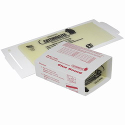 chmaster 72TC Thin Glue Traps are shown much narrower in size than the alternative traps these mouse glue boards can fit where others can