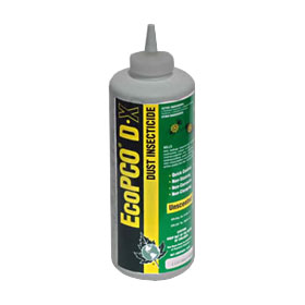 EcoPCO DX Dust Insecticide is shown in the puffer bottle size This effective Dust insecticide will protect from a variety of bugs and is from EcoPCO