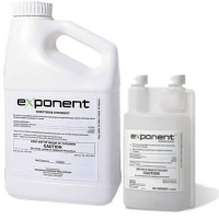 Exponent Insecticide Synergist is shown in two different sizes