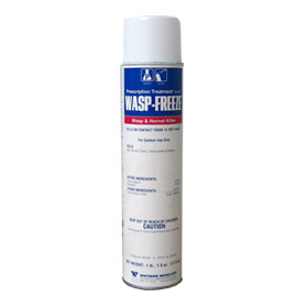 Wasp Freeze is a Prescription Treatment Wasp and Hornet Killer. Kill wasps, bees, yellowjackets, spiders, hornets, and carpenter bees with this aerosol insecticide