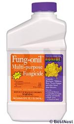 Bonide 881 Fung-onil with Daconil is a multi purpose fungicide is shown in a quart bottle Bonide Fungonil will stop your fungus problem right!
