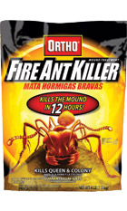 Fire Ant Killer Granules Kills the entire ant mound in 12 hours!