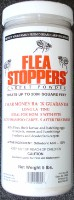Flea Stoppers are shown in its jar packaging