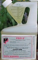 PBO 8 Piperonyl Butoxide Spray is shown a popular synergist for pyrethrins PBO insecticide synergist can supercharge your pyrethrin insecticide including pyrethrum and more!