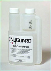 Nyguard IGR Concentrate is shown a strong insect growth regulator