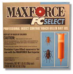 Maxforce FC Select label is show