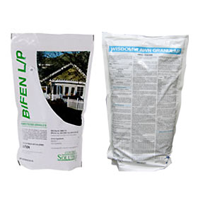 Bifen L/P Granules are shown in a bag These granules work well indoors or out on lots of bugs such as ants, fire ants and more!