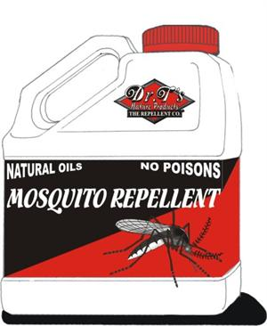Dr Ts Mosquito Repellent is shown