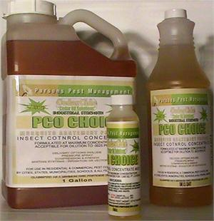 PCO Choice Insect Control Concentrate
