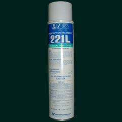 Prescription Treatment 221L is shown in a 17.5 OZ Can This powerful aerosol insecticide made by the folks at PT will successfully control a long list of over 30 different bugs!