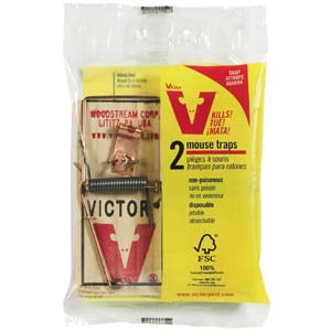 Victor Wooden Mouse Traps
