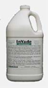 Invade Bio Remediation is shown in a gallon jug