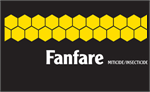 Fanfare 2EC Miticide uses bifenthrin to quickly knock out the pests facing you!