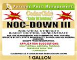 Nocdown III by cedarcide is an industrial strength, cedar oil based, multi use insect control concentrate. Label pictured