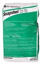 Snapshot 2.5 TG Herbicide is a powerful herbicide for a large variety of weeds from Dow!