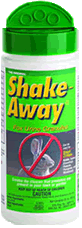 Shake-Away Squirrel Repellent